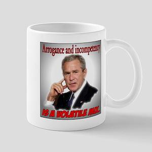 Arrogance and Incompetency Mug