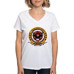 Bay of Pigs Veteran Women's V-Neck T-Shirt