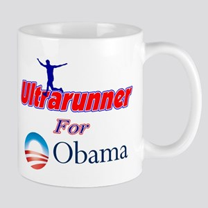 Ultrarunner for Obama Mug