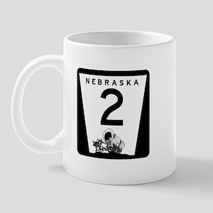 Highway 2, Nebraska Mug