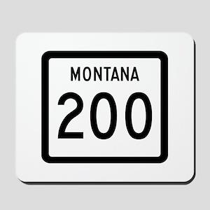 Highway 200, Montana Mousepad