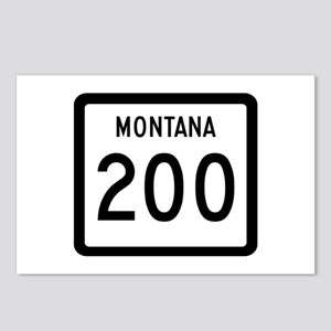 Highway 200, Montana Postcards (Package of 8)