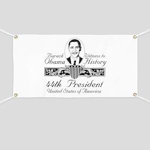 President Barack Obama Victory Banner