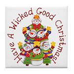 Wicked Good! Snowmen Tile Coaster