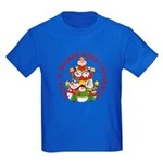 Wicked Good! Snowmen Kids Dark T-Shirt