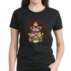 Wicked Good! Snowmen Women's Dark T-Shirt