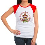 Wicked Good! Snowmen Women's Cap Sleeve T-Shirt