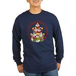 Wicked Good! Snowmen Long Sleeve Dark T-Shirt