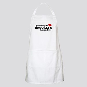 Somebody In Brooklyn Loves Me BBQ Apron