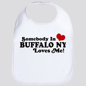 Somebody In Buffalo NY Loves Me Bib