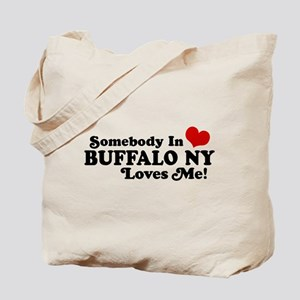 Somebody In Buffalo NY Loves Me Tote Bag