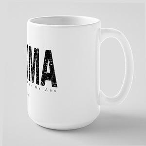 CCKMA (distressed) Large Mug