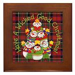 Wicked Good! Christmas Framed Tile