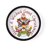 Wicked Good! Christmas Wall Clock