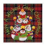 Wicked Good! Christmas Tile Coaster