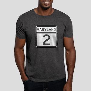 Route 2, Maryland Dark T-Shirt