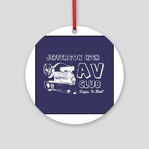 AV Club - Keepin It Reel! Keepsake (Round)
