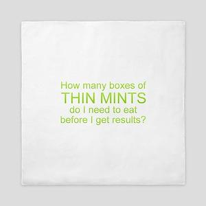 Thin Mints Queen Duvet