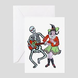 Halloween A-GO-GO Greeting Card