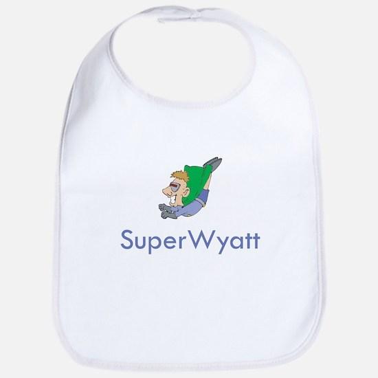 SuperWyatt Bib