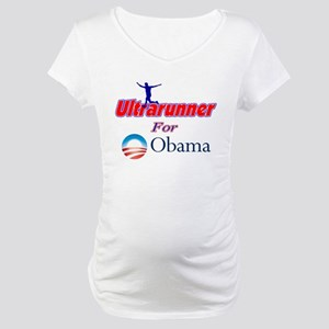 Ultrarunner for Obama Maternity T-Shirt