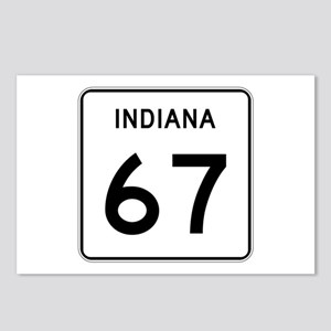 State Road 67, Indiana Postcards (Package of 8)