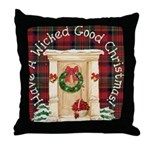 Wicked Good! Christmas Home Throw Pillow