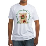 Wicked Good! Christmas Home Fitted T-Shirt