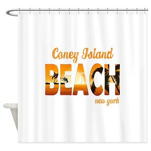 Coney Island Shower Curtains