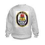 USS FLATLEY Kids Sweatshirt