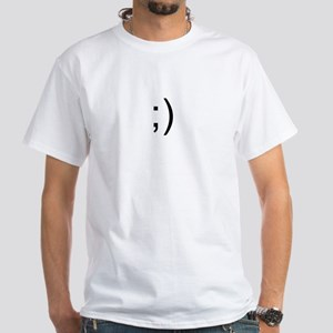White T-Shirt - wink