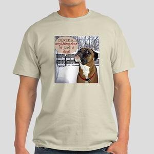 Jackson the Boxer Light T-Shirt 6