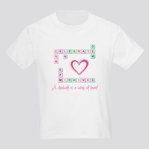 Celebrate Midwives Kids Light T-Shirt