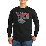 Emo Lawn Long Sleeve Dark T-Shirt