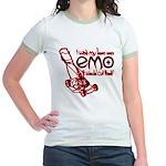 Emo Lawn Jr. Ringer T-Shirt
