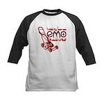 Emo Lawn Kids Baseball Jersey