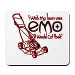 Emo Lawn Mousepad