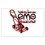 Emo Lawn Large Poster