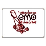 Emo Lawn Banner