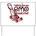 Emo Lawn Yard Sign
