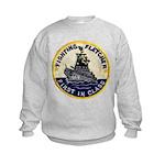 USS FLETCHER Kids Sweatshirt
