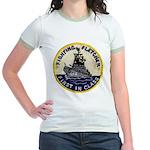 USS FLETCHER Jr. Ringer T-Shirt