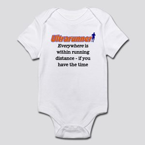 Everywhere is within running Infant Bodysuit