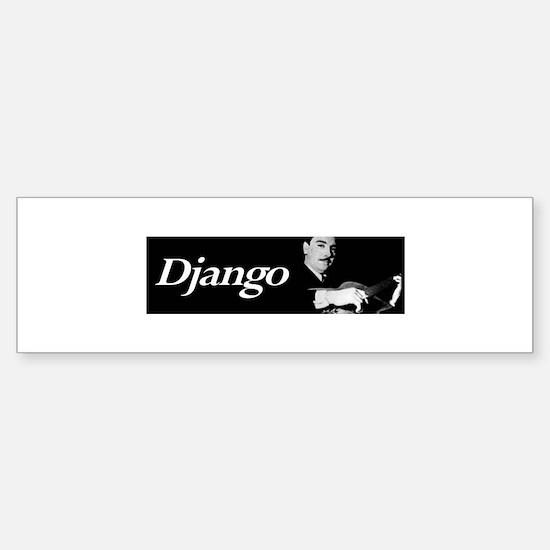 Django Sticker (Guitar Case/Bumper)