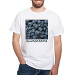Blueberries White T-Shirt