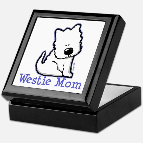 Westie Mom Keepsake Box