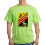Make Your Father Proud (Front) Green T-Shirt