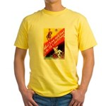 Make Your Father Proud (Front) Yellow T-Shirt