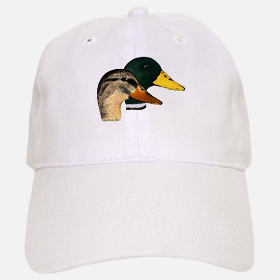 Mallard Ducks - Pair Baseball Baseball Cap