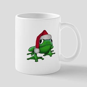 Christmas Frog Mug